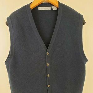 Structure Le Collezioni 100% Cotton Sweater Vest